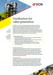 Brochure Gasification for value generation